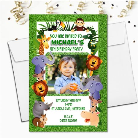 Personalised Childrens Birthday Invitations
